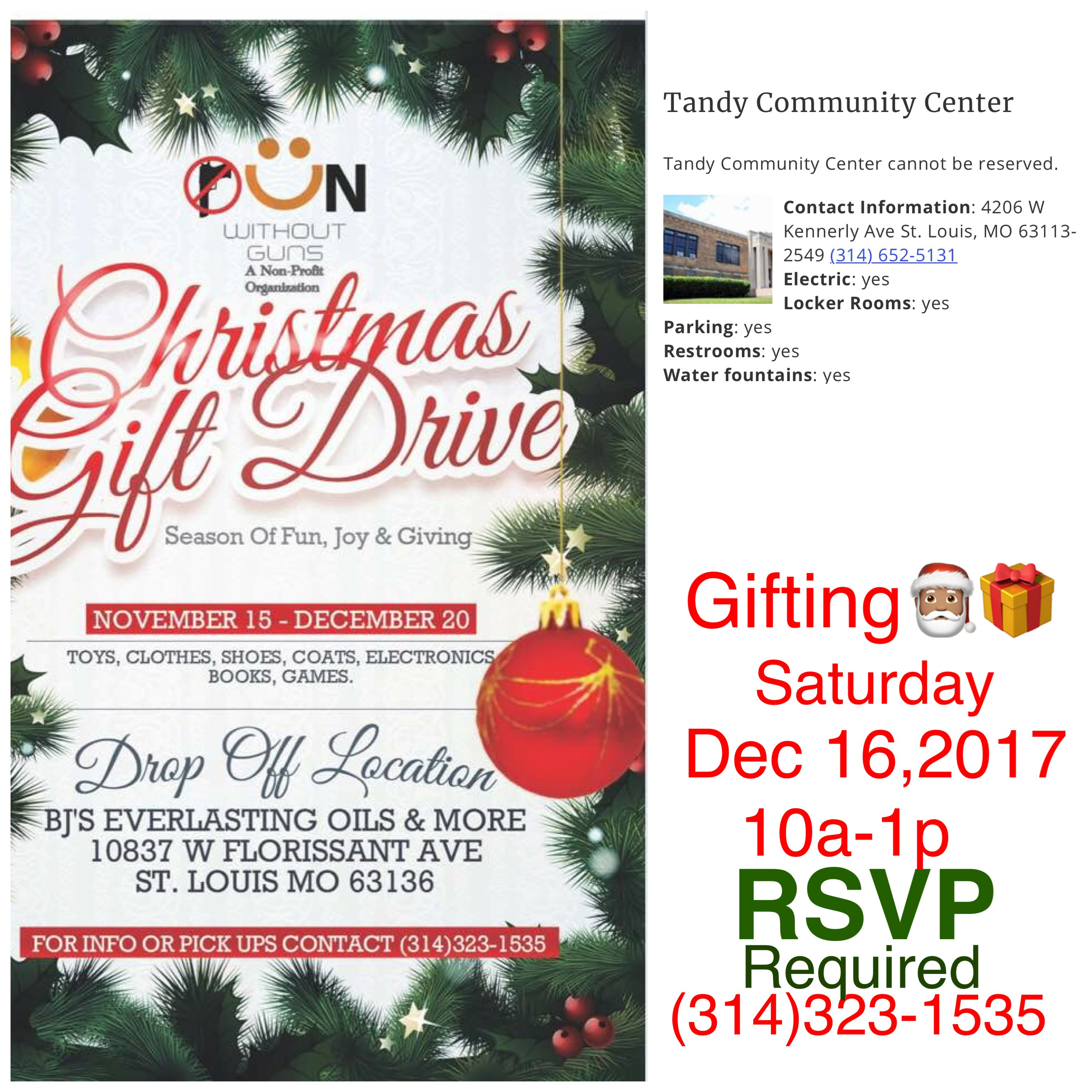 Christmas Gift Drive | Fun Without Guns